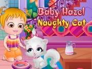 Hazel Bebeğin Yaramaz Kedisi