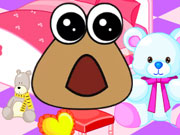 Baby pou room decoration game 2 play online for Baby room decoration games online