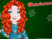 Online game Baby Princess Merida Hairdresser