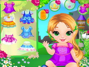 Online game Baby Rapunzel Shower Fun