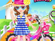 Online game Baby Sofia Ride Bike