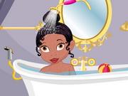 baby tiana shower bath game 2 play online. Black Bedroom Furniture Sets. Home Design Ideas