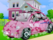 Online igrica Barbie Car Cleaning