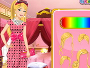 Online game Barbie Floral Dress Design