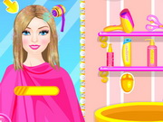Online game Barbie Hairstyle Design