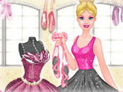 Barbie in Pink Shoes Designer