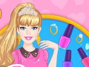 Online game Barbie Prom Nails Designer