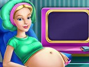 Online igrica Barbie Rapunzel Pregnant Check-up