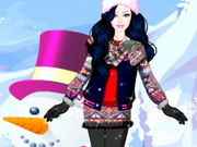Online game Barbie Winter Dress Up