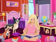 Barbie decorate room