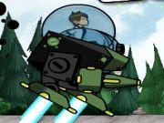 ben 10 robot war play the game online
