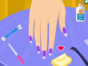 Online game Broken Nails Manicure