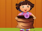 Online igrica Candy Catcher Dora