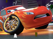 Online game Cartoon Cars Hidden Letters