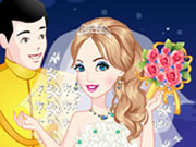 Online igrica Cinderella Wedding Dress Up