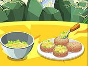 Cooking Fish Fresh Salad