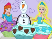 Cutezee Cooking Academy Elsa Cupcakes