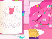 Online igrica Design Your Hello Kitty Dress