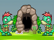 Online game Dino Meat Adventure 2