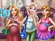 Online game Disney Pregnant Selfie