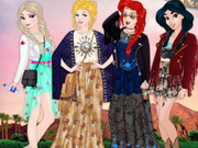 Online game Disney Princess Coachella