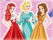 Online game Disney Princess Fashion Stars