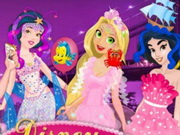 Online game Disney Princess Mermaid Parade