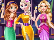 Disney Princess New Year Prom
