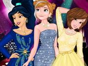 Disney hercegnők újságon