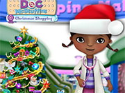 Play Doc Mcstuffins Christmas Shopping Game