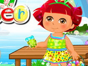 Igrica za decu Dora Easter Day Dress Up