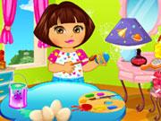 Online game Dora Easter Day