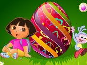Online igrica Dora Easter Egg