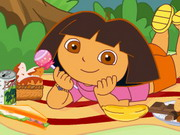 Online game Dora Family Picnic Party