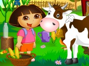 Online game Dora Farm