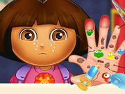 Online game Dora Hand Doctor