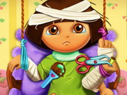 Online game Dora Hospital Recovery