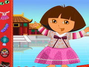 Online game Dora in China Dressup