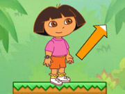 Online game Dora Jungle Jumping
