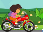 Dora Motorcycle Race