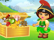 Online igrica Dora Pirate Treasure Finding