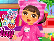 Online game Dora Rainy Day