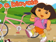Online igrica Dora Ride A Bicycle free for kids