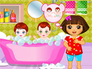 Online game Dora Sibling Care