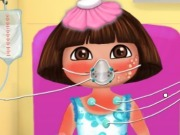 Online game Dora Sunburn