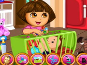 Online game Dora The Babysitter Slacking