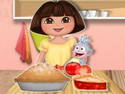 Online game Dora Tomato Pie