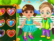 Igrica za decu Dora Valentines Slacking