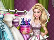 Dove Wedding Dolly Dress Up