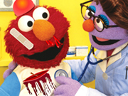 Elmo Visiting The Doctor Game 2 Play Online